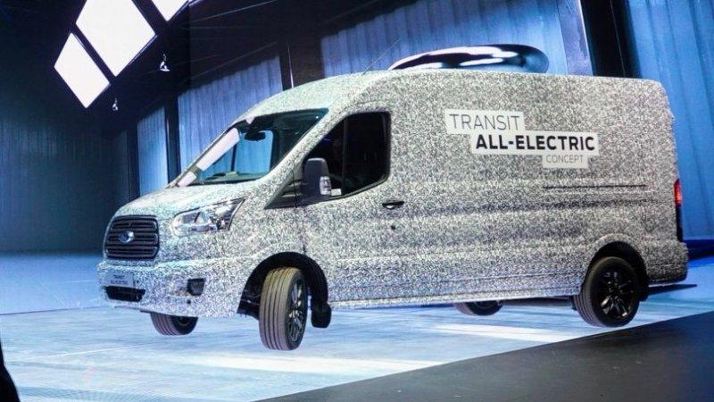 Ford E-Transit tanıtım tarihi açıklandı