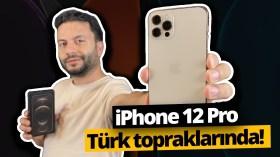 iPhone 12 Pro kutusundan çıkıyor (Video)