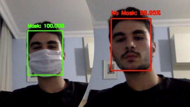 maske takmayanları tespit eden yazılım