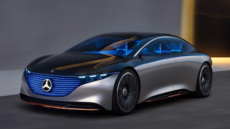 Mercedes süper elektrikli otomobil konsepti