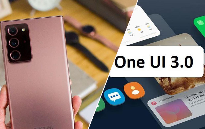 one ui 3 kullanıcı arayüzü, one ui 3 arayüzü, samsung one ui 3, one ui 3 güncellemesi