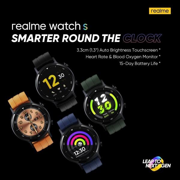 realme Watch S tanıtım tarihi açıklandı