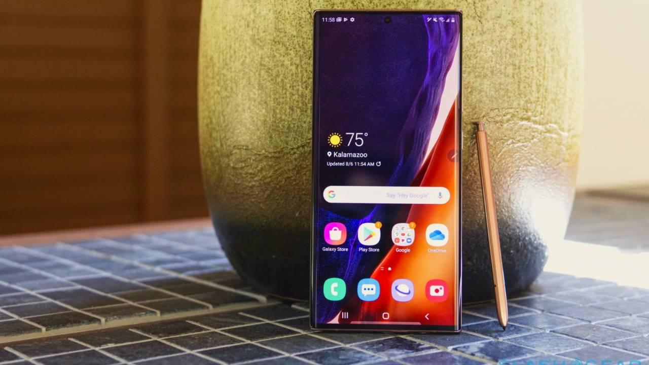 Samsung Galaxy Note 20 Ultra'dan makus sürpriz! 1