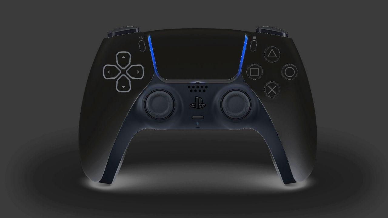 siyah PlayStation 5 DualSense kontrolcüsü