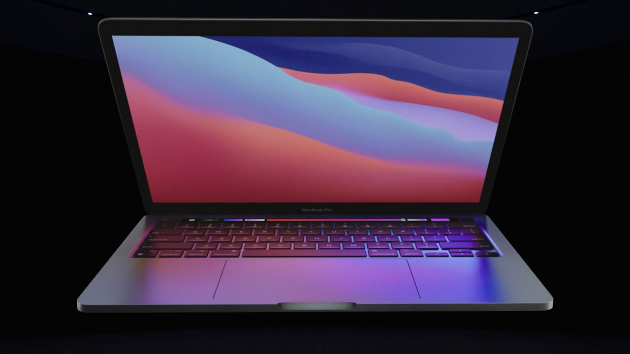 M1 işlemcili 13 inç MacBook Pro