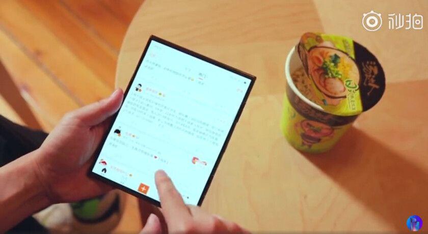 Xiaomi katlanabilir telefon sızıntısı ile gündemde