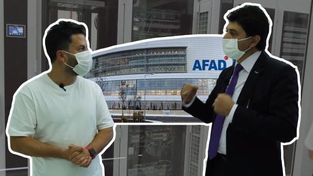 AFAD'ın veri merkezini gezdik!