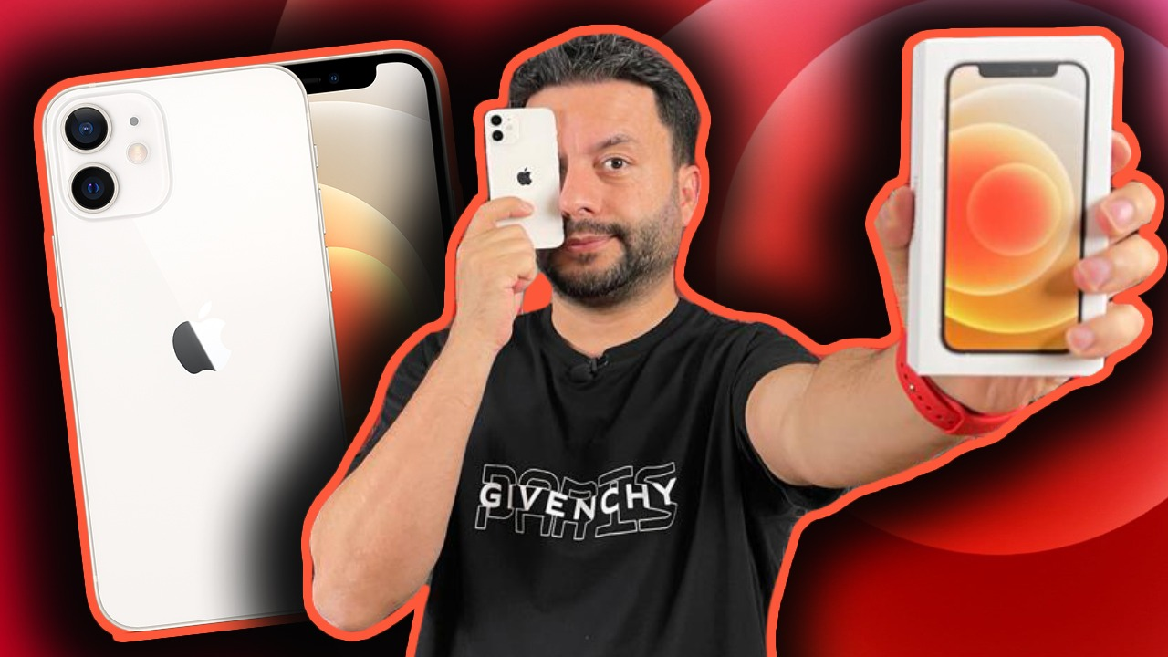 iphone 12 mini kutu açılışı