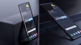 Samsung'dan şeffaf ekranlı telefonlar geliyor!