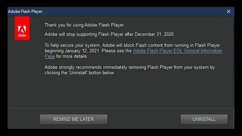 windows-10-adobe-flash-uyarisi-ile-gundemde