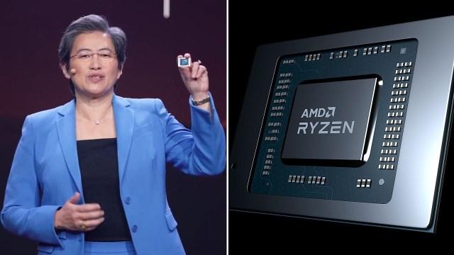 AMD'nin yeni mobil işlemcileri CES'te ortaya çıktı