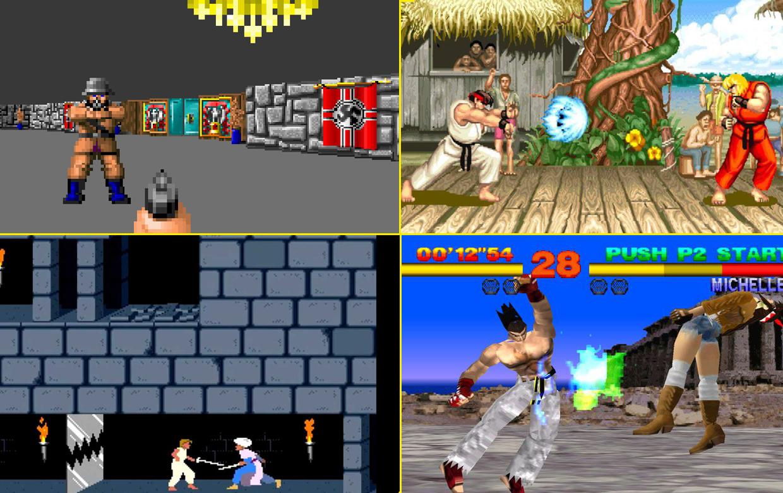 doksanlı yılların oyunları, retro oyunlar, eski oyunlar, atari oyunları, dövüş oyunları