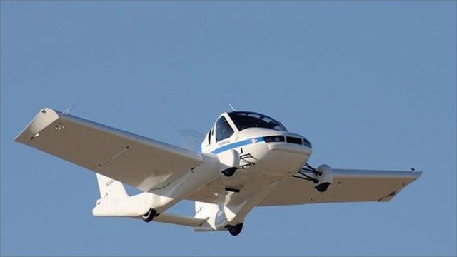 Onay alan ilk uçan araba: Transition