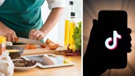 TikTok'tan yemek videoları için yeni özellik!