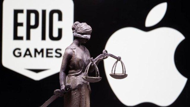 Apple Epic davası fiziksel olarak gerçekleştirilecek