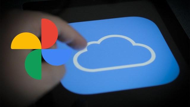 icloud google fotoğraflar