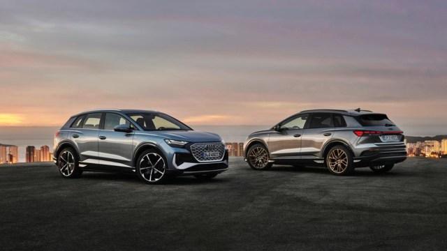 Audi yeni nesil elektrikli otomobili Q4 e-tron'u tanıttı