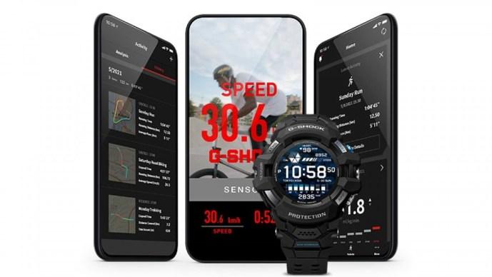 casio akıllı saat, g-shock akıllı saat, g-quad pro