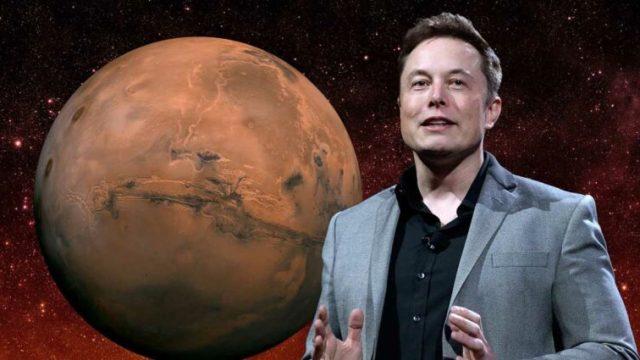 Elon Musk kendisini Mars'ın imparatoru ilan etti