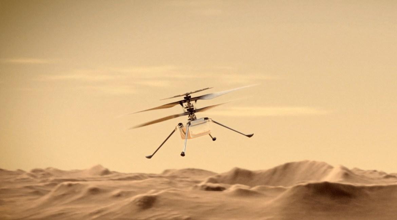 Mars helikopteri Ingenuity
