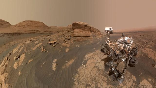 Çarpıcı keşif: Mars'ta yaşam için bileşenler yeraltında