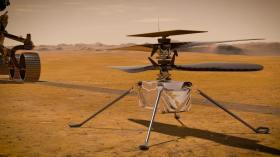 NASA, Ingenuity'nin son uçuş videosunu yayınladı