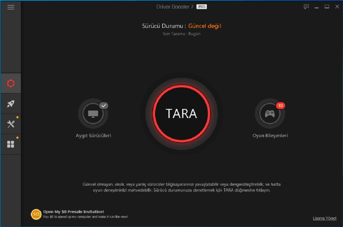 İobit Driver Booster
