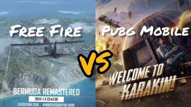 PUBG Mobile vs Free Fire: Hangisi daha iyi?