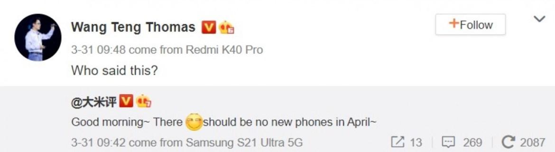 Redmi yeni telefon
