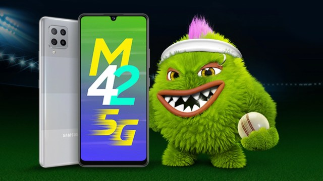 Snapdragon 750G'li Samsung Galaxy M42 5G tanıtıldı