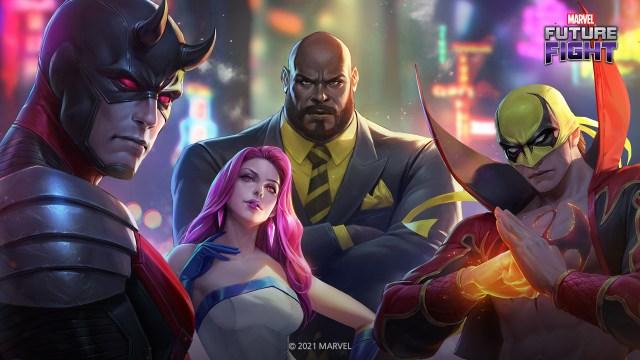 Marvel Future Fight için yeni güncelleme geldi