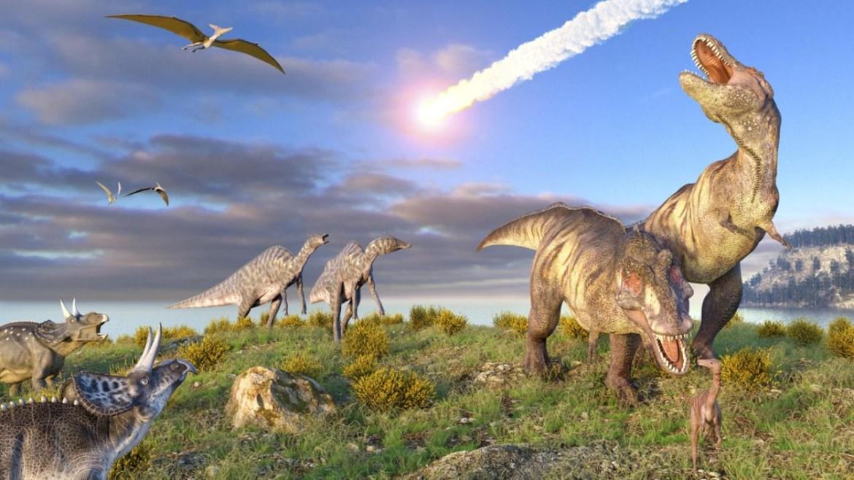 Dinozorları yok eden asteroit.