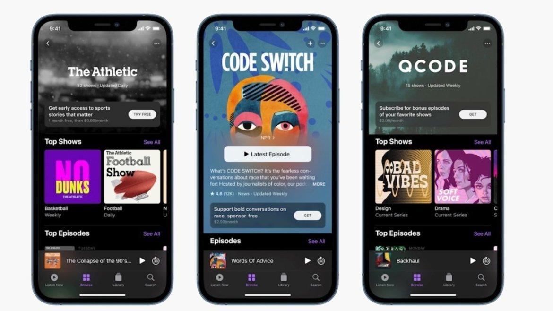 Apple Podcast partner programı duyuruldu