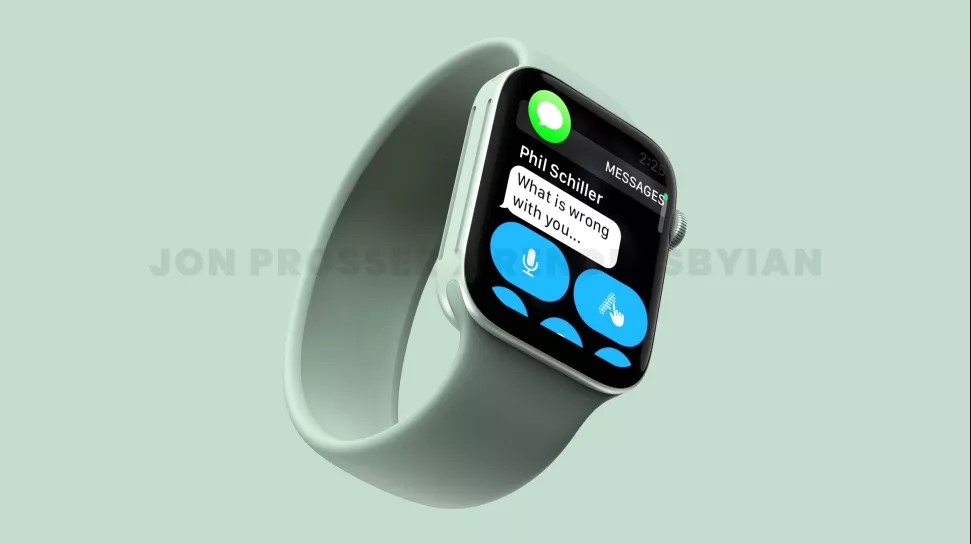 Apple Watch 7 tasarımı sızdırıldı