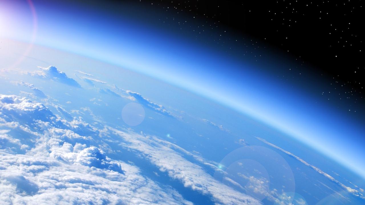 Atmosferin stratosfer katmanı daraldı.