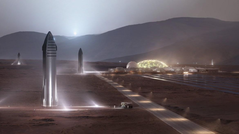 Elon Musk, gelecek Mars ve Ay görevleri hakkında konuştu.