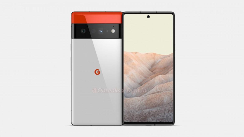 google pixel 6 pro render goruntuleri ortaya cikti 1