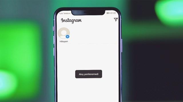 Instagram akış yenilenemedi hatası nasıl düzelir?