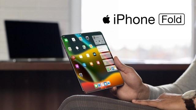 Katlanabilir iPhone'un yeni görüntüleri ortaya çıktı