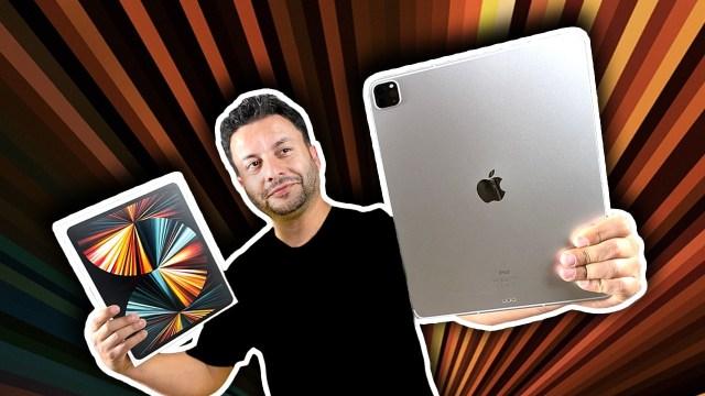 M1 işlemcili iPad Pro kutu açılışı