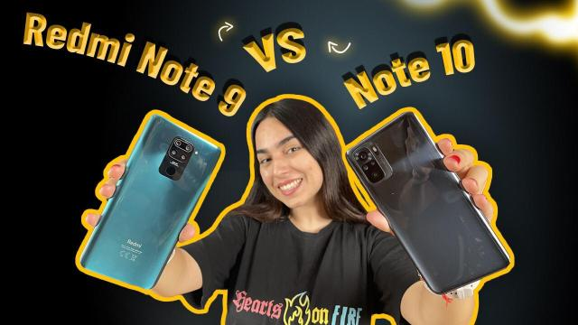 Redmi Note 9 vs Note 10 kamera karşılaştırması