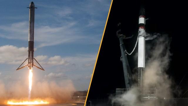 spacex rakibi, rocket lab roketi, electron roketi, yeniden kullanılabilir roket