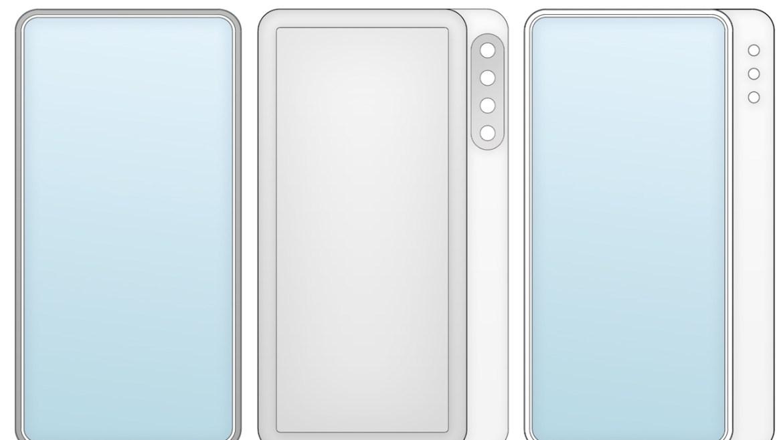 xiaomi patent, xiaomi yeni patent, xiaomi kayan ekran, xiaomi kayan kamera