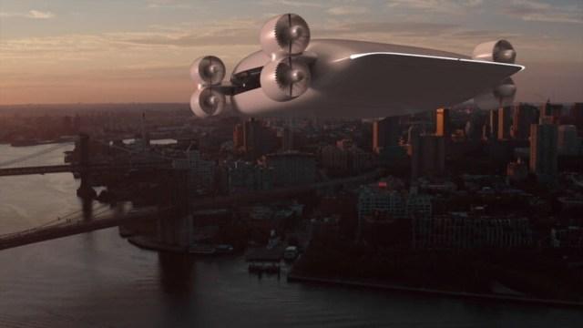 40 kişilik drone otobüsü fikriyle Tesla'ya meydan okudu