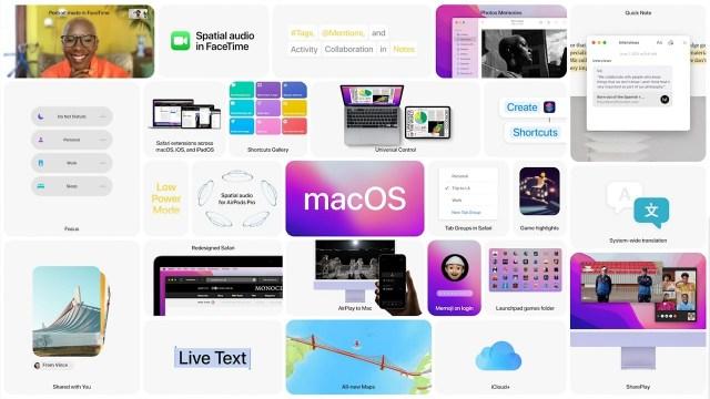 macOS 12 Monterey resmen tanıtıldı! İşte yenilikler