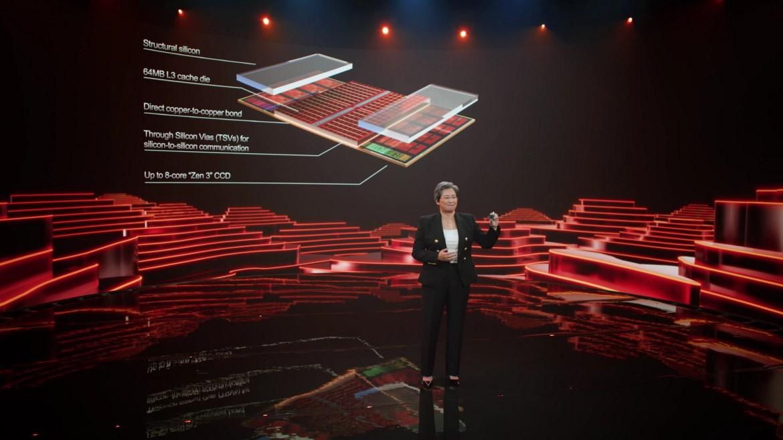 AMD, 3D Chiplet teknolojisini duyurdu