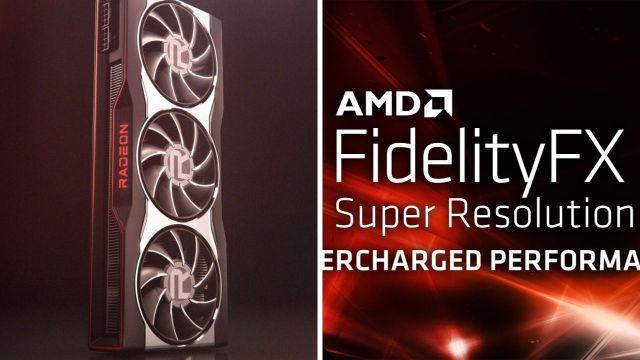 AMD FidelityFX teknolojisi NVIDIA DLSS ile karşı karşıya