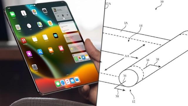 Apple'dan yuvarlanabilir ekranlı iPhone patenti