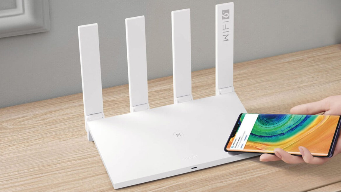 Huawei AX3 router
