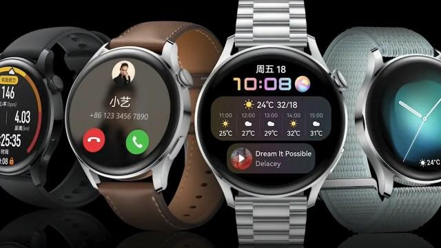 Huawei Watch 3 serisi tanıtıldı: HarmonyOS'lu ilk akıllı saatler